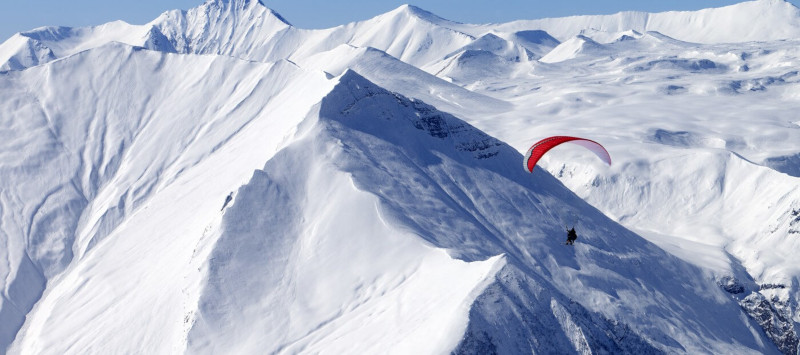 Paragliding (winter)